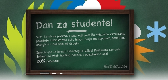 Mint Services - Popust za studente