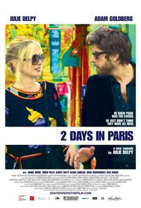 2 Days in Paris 2007 Movie Poster