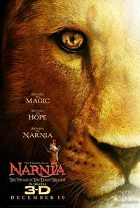 (5) The Chronicles of Narnia: The Voyage of the Dawn Treader (2010) Movie Poster