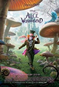 Alice in Wonderland 2010 Movie Poster