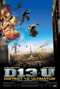 Banlieue 13 District 13 Ultimatum 2009 movie poster