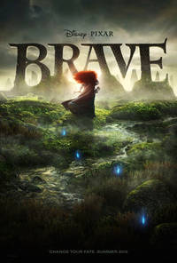 Brave (2012) Trejler Movie Poster
