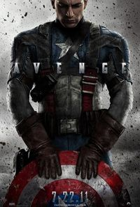 Captain America: The First Avenger (2011) Trejler Movie Poster