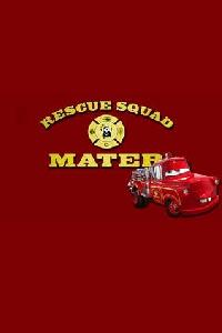 Cars - Rescue Squad Mater Movie Poster
