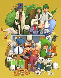 Cave Story 2004 game poster