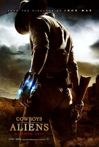 Cowboys & Aliens (2011) Trejler Movie Poster