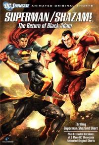 DC Showcase: Superman/Shazam!: The Return of Black Adam (Video 2010) Poster