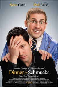 Dinner for Schmucks (2010) Poster