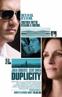 Duplicity Movie Poster