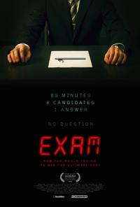 Exam (2009) Movie Poster