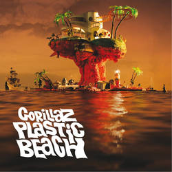 Gorillaz Plastic Beach 2010 album cover
