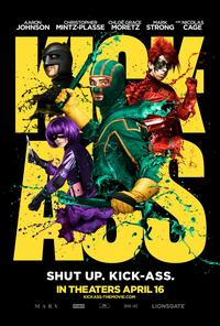Kick-Ass 2010 Movie Poster