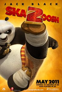 Kung Fu Panda 2 (2011) Tizer Trejler Movie Poster