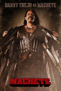 Machete (2010) Trejler Movie Poster