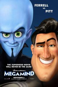 Megamind (2010) Trejler Movie Poster