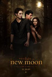 New Moon 2009 movie poster