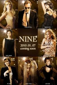 Nine 2009 Movie Poster