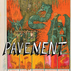 Pavement - Quarantine the Past 2010 Album Cover