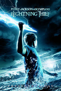 Percy Jackson & the Olympians: The Lightning Thief 2010 Movie Poster