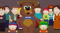 South Park Mohammed  in bear costume screenshot
