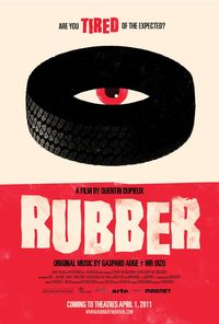 Rubber (2011) Trejler Movie Poster