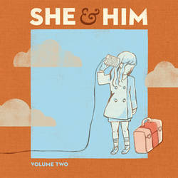 She & Him - Volume Two 2010 Album Cover