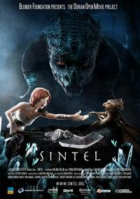 Sintel Kratki Film Movie Poster