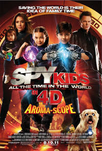 Spy Kids: All the Time in the World in 4D Poster