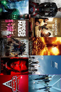 Summer Movie Preview 2011 Movie Poster