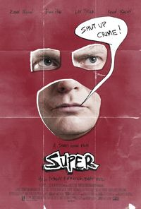 Super (2011) Trejler Movie Poster