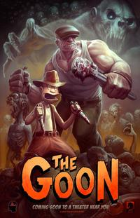 The Goon 2010 Trejler Movie Poster