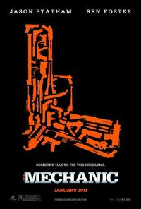 The Mechanic (2011) Trejler Movie Poster