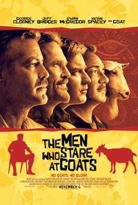 The Men Who Stare at Goats 2009 movie poster