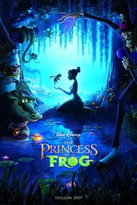 The Princess and the Frog 2009 movie poster