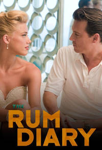 The Rum Diary (2011) Trejler Movie Poster