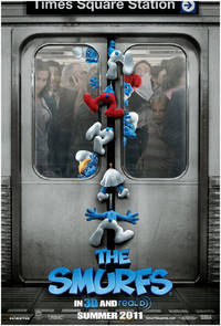 The Smurfs (2011) Movie Poster