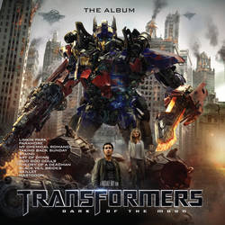Transformers: Dark of the Moon Album Cover
