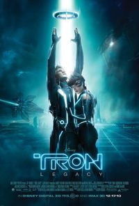 TRON: Legacy (2010) Trailer Movie Poster