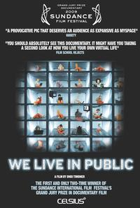 We Live in Public 2009 movie poster